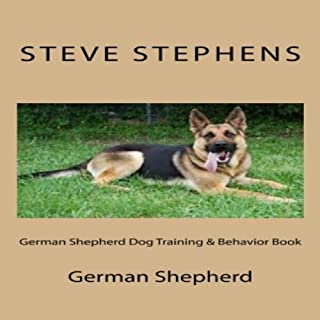 German Shepherd Dog Training & Behavior Book audiobook cover art