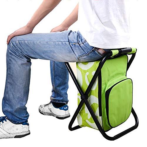 N/A XMMDD - Bolsa de hielo portátil de gran capacidad aislante, taburete multifunción para escalada, apto para exteriores, camping, pesca, ocio, silla
