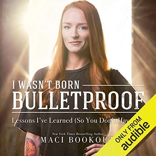 I Wasn't Born Bulletproof cover art