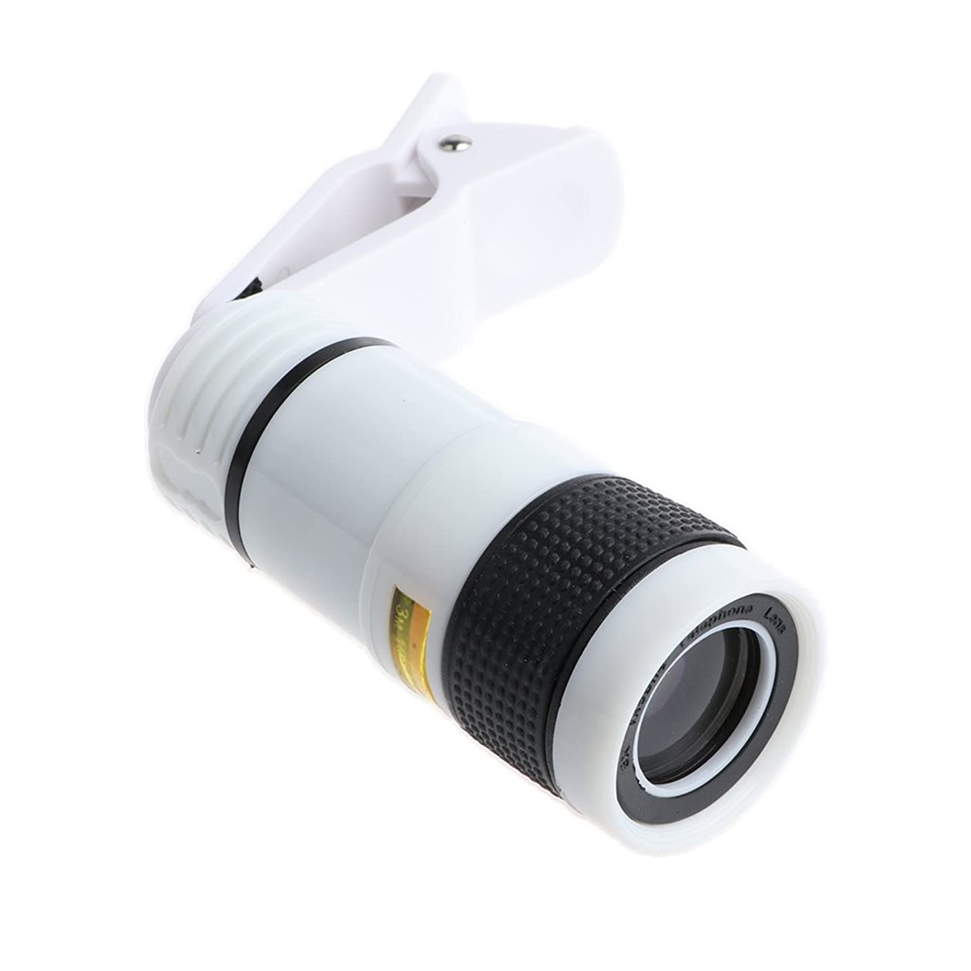D DOLITY Easy Install Safety Mobile Phone Camera Zoom Lens Kit Clip on Telescope 8X
