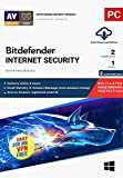 Antivirus, Antispyware, Anti-phishing, Secure browsing Safe Online Banking,Password manager, Social network protection, Antispam ,vulnerability scanner, Network Threat Prevention . Multi-Layer Ransomware Protection with Bitdefender Safe Files, Webcam...
