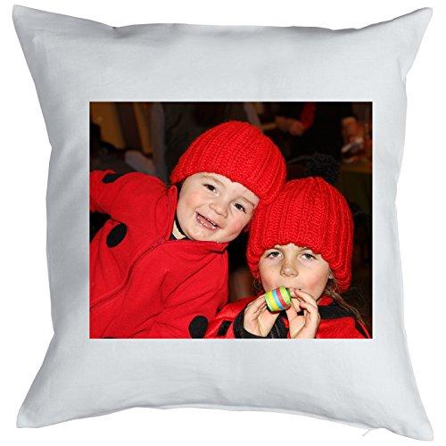 Fotodruk cadeau-idee fotogeschenken kussen met vulling en eigen foto cadeau voor Kerstmis verjaardag eigen fotoduck