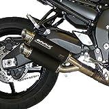 Auspuff Bodis GPX2 Slip-On Edelstahl schwarz FZ1 NA ABS RN16 09-14