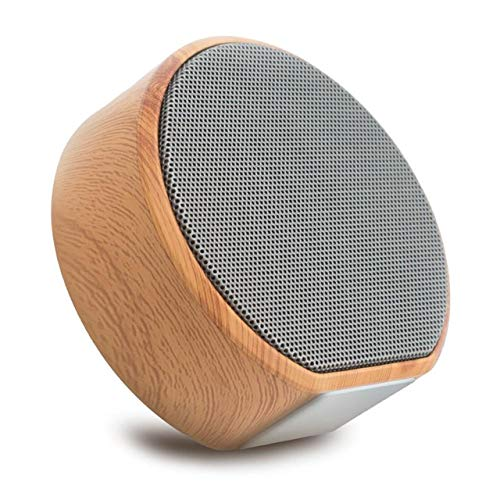 Retro hout Bluetooth luidspreker Portable Outdoor Wireless Mini Computer Bluetooth Sound Box ondersteuning, grijs