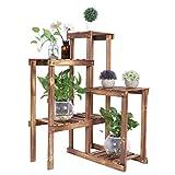 Dioche Estantería para plantas de varios pisos, 5 niveles, soporte para flores,...