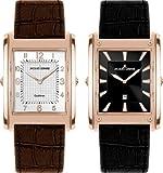 Jacques Lemans - Set de Relojes de Cuarzo para Hombres