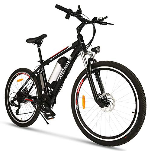 26 inch Electric Bike for Adults, Commuting Ebike with 8Ah Battery, 250W Motor Electric Mountain Bike, and Professional 21 Speed Gears