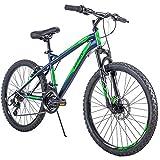 Huffy 24' Nighthawk Boys' Mountain Bike, Blue