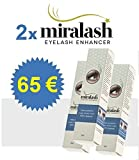 2x Miralash 3 ml Conditioner für Wimpern langen dichte Wimpern SERUM