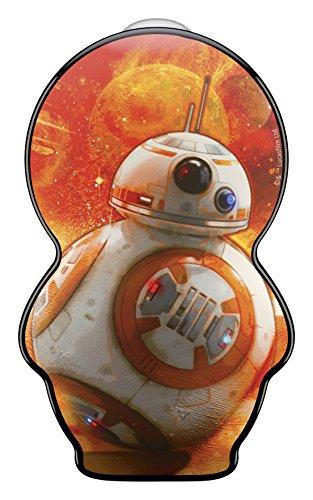 Signify Star Wars BB-8-Linterna de Bolsillo Infantil y Linterna, 0.3 W, negro
