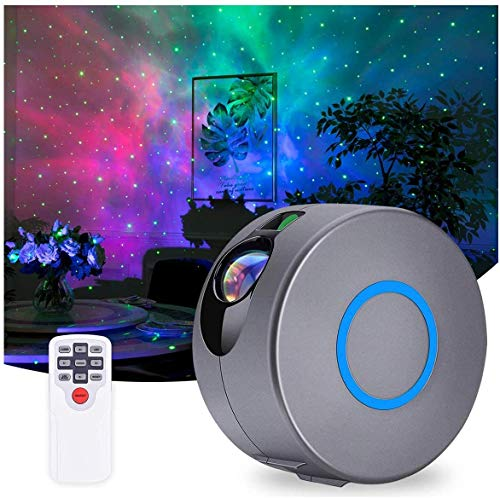 Star Projector Night Light - Ocean Wave Projector Remote Control Star Lamp Projector, Kid Night Light Projector Home Planetarium Projector Best Gifts for Kids Party Birthday and Adults Bedroom Dec