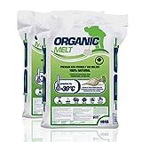 Organic Melt Premium Granular Ice Melt. Eco Friendly, Pet Friendly, Driveway and Sidewalk