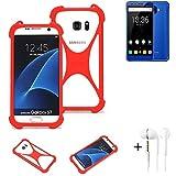 K-S-Trade® Mobile Phone Bumper + Earphones For Oukitel