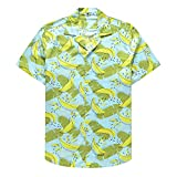 Camisas De Primavera Y Verano Camisas De Manga Corta para Hombres Camisa Estampada De AlgodóN para Hombres Camisas Hawaianas
