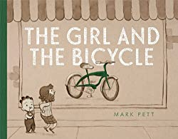 the girl and the bicycle about reaching for a goal.