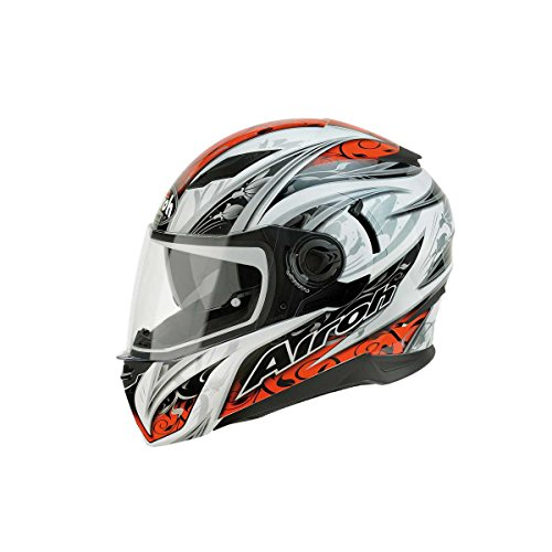 Airoh MVF55 casco per moto Movement, rosso, taglia: 56