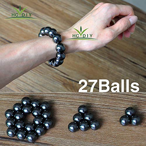 HCDIM Small Large Mutual Attraction Desk Balls 27 PCS Decompression Toy Manual Free Combination Office Stress Toy Perfect for Crafts Sculpture