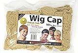 Beauty Town Wig Cap 100 Pieces Bulk Bag Natural Nude