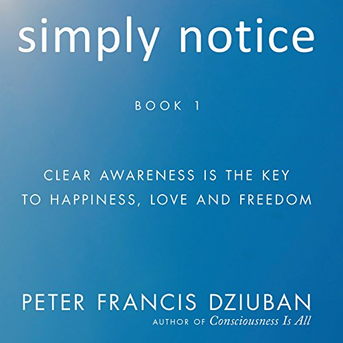 Simply Notice audiobook cover art