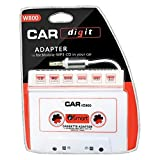 QUMOX CAR Cassette Tape Adapter AUX 3.5mm for MP3 Player iPod CD iPhone W800-W