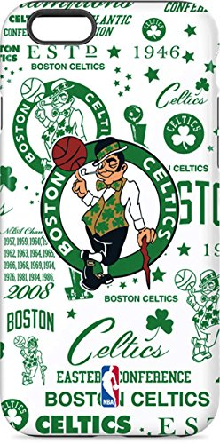 Skinit Pro Phone Case Compatible with iPhone 6s - Officially Licensed NBA Boston Celtics Historic Blast Design