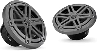 JL Audio MX650-CCX-SG-TB -2-Way Marine Cockpit Coaxial MX Series Speakers,  6.5 (Titanium)