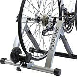 PedalPro Bicycle Turbo Trainer - Turns Cycle Into Fitness/Speed/Exercise Training Bike