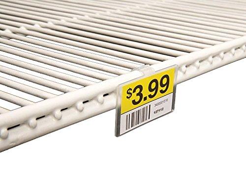 LeonBach 12 Pcs 304 Stainless Steel Freezer Shelf Clips Support Clips for Refrigerator Shelf Cooler Shelves