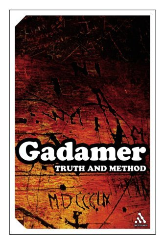 By Hans-Georg Gadamer - Truth and Method (Continuum Impacts) (New Ed) (9/15/04)