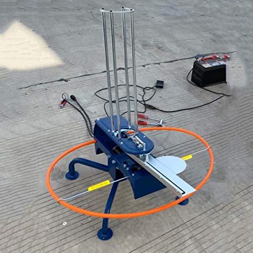 WEIFAN 12V Elektrischer Tonwerfer Automatische Fallenmaschine Skeet ZieltaubenschießEn TontaubenfäNger Zielwerfer