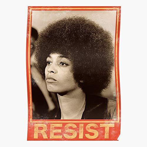 Generic Resist Angela Panther Protest Black Panthers 70S Lives Davis Matter Home Decor Wall Art Print Poster ! Home Decor Wandkunst drucken Poster !