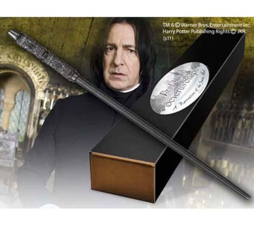 HARRY POTTER Varita mágica de Profesor Severus Snape