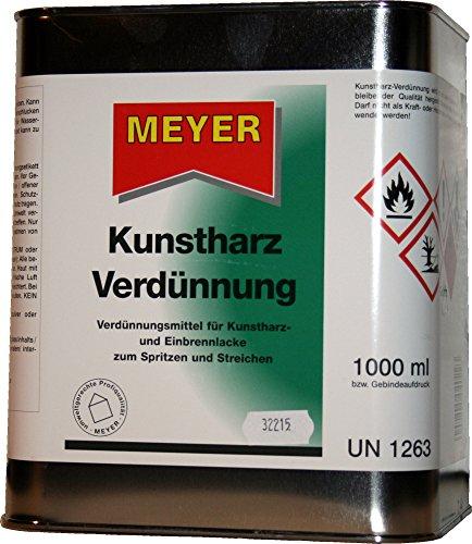 Kunstharzverdünnung, Verdünner, KH Verdünnung, Verdünnung, Alkydharz Verdünner, 3 Liter