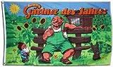Fahne / Flagge Gärtner des Jahres + gratis Sticker, Flaggenfritze®