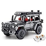 Technik Auto Off-Road Vehicle Construction Set con Motor Y Control Remoto, Modelo De Vehículo 1852PCS - Versión Dinámica