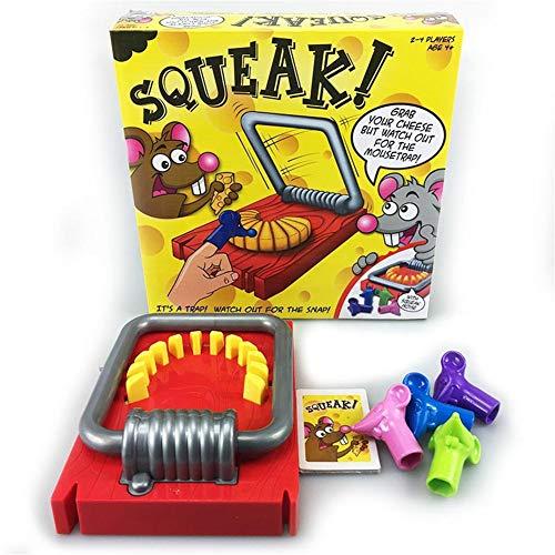MeterMall Muizenval vorm hand bijten tafelblad spel ouder-kind interactie puzzel speelgoed