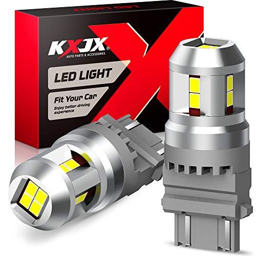 KXJX 3157 LED Reverse Light Bulb, Super Bright White 3057 3056 3156 3457 4057 4157 4114 LED...