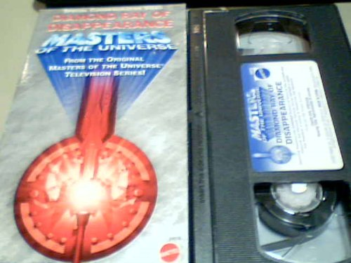 2001 Mattel, Inc. Mattel Masters of the Universe Diamond Ray of Disappearance Vhs Cartoon Tape #54918 (Vhs Tape, English Only,22 Minutes)(special Commemorative Video)