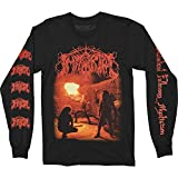 Immortal 'Diabolical Fullmoon Mysticism' (Black) Long Sleeve Shirt (Medium)