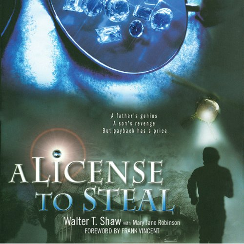 A License to Steal audiobook cover art