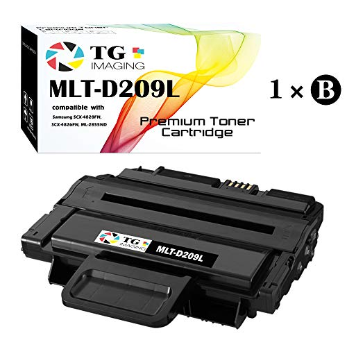 (1-Pack, High Page Yield) Compatible MLTD209L MLT-D209L Toner Cartridge for use in Samsung ML-2855 SCX-4824 SCX-4826 SCX-4828 Printer, Sold by TG imaging
