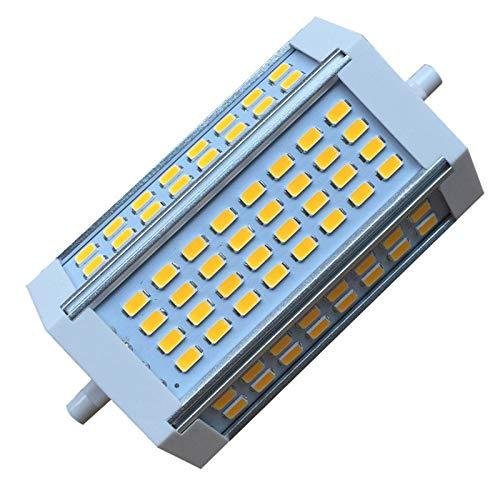 R7s LED 118mm 30w Led Regulable 3000 Lumenes para Garden Park Garage Landscape,Warm White