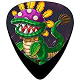 Dino Pirahna Guitar Picks Celluloid Print Girls Complete Assorted 12 Pack