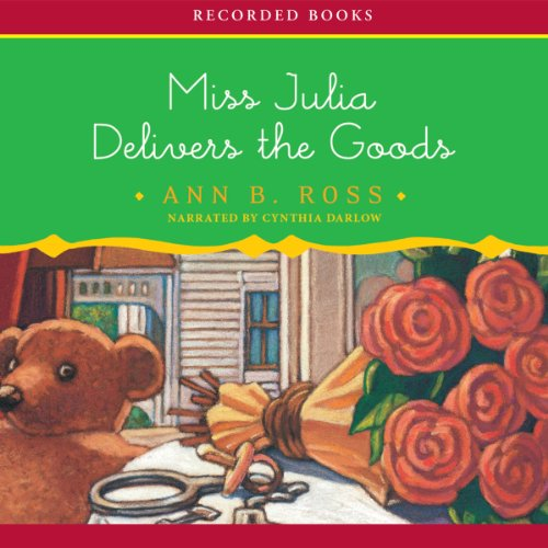 Miss Julia Delivers the Goods  audiobook cover art