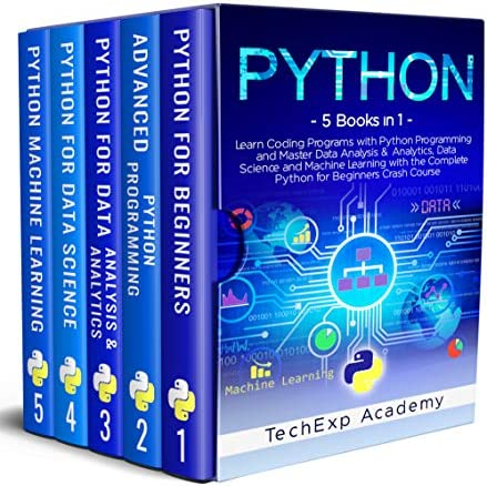 PYTHON Learn Coding Programs with Python Programming and Master Data Analysis Analytics Data product image