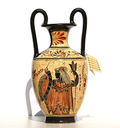Dea greca ceramica anfora vaso dipinto vaso vaso Athena Dio Zeus