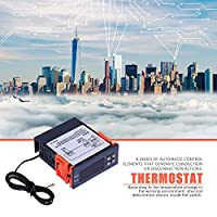 【𝐍𝐞𝒘 𝐘𝐞𝐚𝐫𝐬 𝐆𝐢𝐟𝐭𝐬】正確な温度コントローラー、サーモスタット、遅延保護耐久性のあるデータストレージ業界制御温度工場の冷凍制御