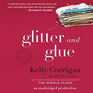 Glitter and Glue audiobook cover art