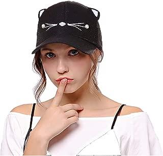 Women Adjustable Cat Ears Cap Baseball Sun Hats Hip Hop Hat