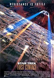 Star Trek First Contact Single-Sided Reprint 27X41 New Patrick Stewart Jonathan Frakes Poster